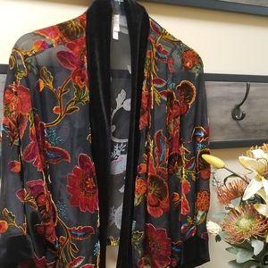 Ladies sheer jacket